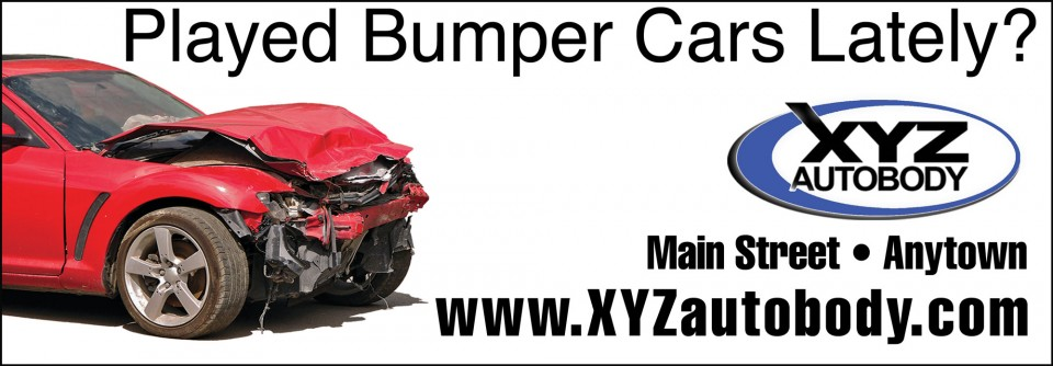 Bummber Cars billboard
