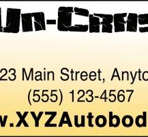 Uncrash Car Billboard